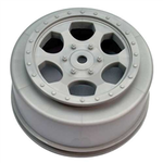 Trinidad SC Wheels - Team Losi TEN SCTE / 22SCT - Silver - (2)