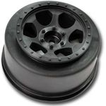 Trinidad SC Wheels - Traxxas Slash Front - Black - (2)