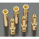 Tekin - Solid High Power 4.0mm Gold Connectors (3)