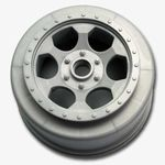 Trinidad SC Wheels - Team Associated SC10 Front - Silver - (2)