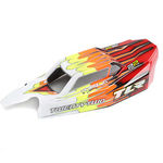 TLR230010 - Light Weight Body & Wing Clear, w/Stickers: 22 4.0