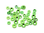 JQS0007 - THE M3 (26pcs) and M4 (12pcs) Countersunk Washer (Green)