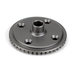 LOSA3509 - Front Differential Ring Gear: 8B