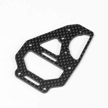 TKR6635C – Center Diff Top Plate and Fan Mount (carbon fiber, EB410)