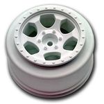 Trinidad SC Wheels - Traxxas Slash Front - White - (2)