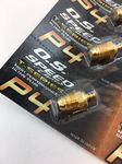 O.S. 24K Goldplated Glow Plug P4 Super Hot