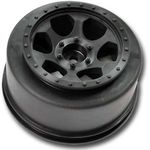 Trinidad SC Wheels - Slash Rear / Slash 4x4 / Blitz / SCRT-10 - Black - (2)