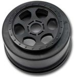 "DE Racing ""Trinidad"" SC Wheel for Durango DESC10 / Associated SC8 / 17mm Hex / BLACK"