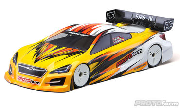 SRS-N Light Weight Clear Body fits 200mm Touring Car
