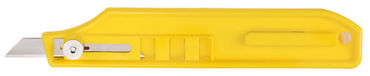 Excel - K8 Flat Yellow Handle Lt.Duty Knife