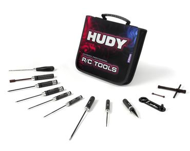 Set Of Tools + Carrying Bag - For Nitro Touring Cars