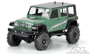 Pro-Line Jeep Wrangler Unlimited Rubicon Clear Body - 3336-00