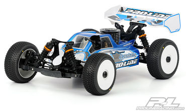 "Pro-Line BullDog Clear Body for ""THE Car"""