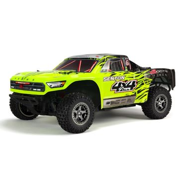 Arrma Senton 4X4 3S BLX 1/10TH 4WD SC (Green/Black)