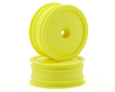 Borrego Buggy Wheels - Kyosho RB5 Front / AE B4 Front - Yellow - (2)