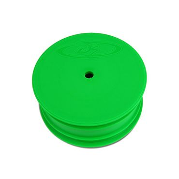 DE Racing Speedline Buggy Wheels for TLR 22 - 22 2.0 / Front / GREEN