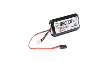 Reaction 7.4V 3200MAh Li-Ion RX pack