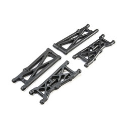 LOS234024 - Suspension Arm Set: 22S