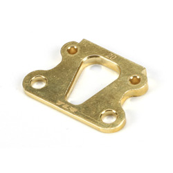 Brass Kick Angle Shim, 20 Degrees: 22
