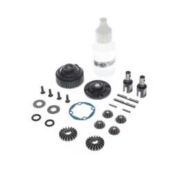 TLR232101 - Complete G2 Gear Diff, Metal: 22