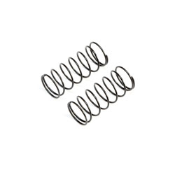 TLR233049 - Black Front Springs, Low Frequency, 12mm (2)
