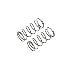 TLR233052 - Sky Blue Front Springs, Low Frequency, 12mm (2)