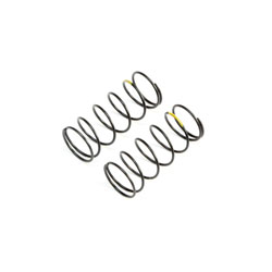 TLR233053 - Yellow Front Springs, Low Frequency, 12mm (2)