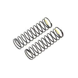 TLR233057 - Yellow Rear Springs, Low Frequency, 12mm (2)