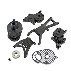 TLR332056 - 3-Gear Conversion Kit: 22/T/SCT 2.0