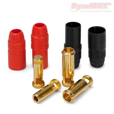 DynoMAX Connector AS150 Anti-Spark 7mm red/black 2+2 - B9305