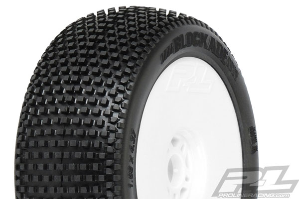 4 2 Pro-Line 9053-17 Electron MC Off-Road 1//8 Buggy Tires Front // Rear